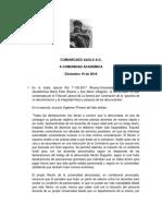 """""""garantía de no discriminación y la integridad física y psíquica de las denunciantes""""."""