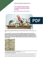 Papiers peints, les Collections du Musée national suisse
