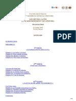 LES JEUNES, LA FOI ET LE DISCERNEMENT VOCATIONNEL  Document final