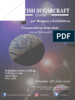 Competition Schedule 2019