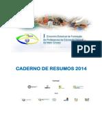 Caderno de Resumos 2014