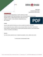 Repintar Marcas Viales Carrilbici Conde Don Vela (34/2018)