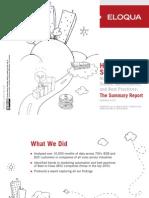 Eloqua Benchmark Report - Summary 3Q10