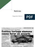 Noticias Segundos 3 Trim.