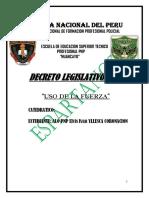 USO  DE LA FUERZA  MONOGRAFIA  LISTO.docx