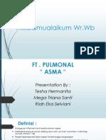 Ft Pulmonal (Asma )