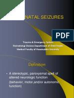 4. Neonatal Convulsion