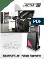 Vehicle Inspection Bilanmatic Xg