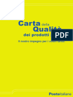 Carta Qua PosteItaliane