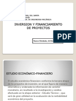 Inversion y Financimiento de Proyectos