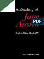 Barbara Hardy-A Reading of Jane Austen-Bloomsbury Academic (2000)