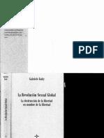 La Revolución Sexual Global. Gabriele Kuby(1)