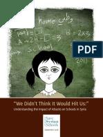 Report Save Syrian Schools English Web