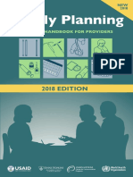 Handbook fmaily planning
