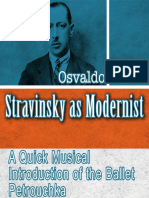 Stravinsky as Modernist - A Quick Musical Introduction of the ballet Petrouchka