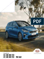 Kia France Ceed Sw Fichetechnique Septembre2018