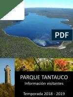 Parque Tantauco información para el visitante