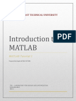 Mat Lab Tutorial 1