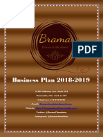 2018-2019 brama chocolates