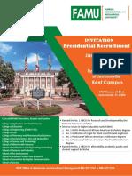 fscj kent campus - famu annual presidential recruitment  1
