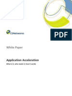 CD Networks Application Acceleration WP