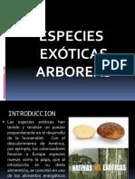 Especies Exoticas EN EL ECUADOR