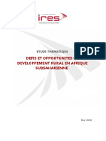Rapport Developpement Rural IRES