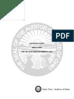 Cuyahoga County 2017 Single Audit