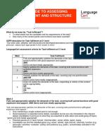 LanguageCert Assessment of Writing C1 TFandstructure