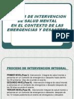 03 Niveles de Intervencion en Emergencias y Desastres