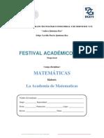 Festival Academico 2018 Etapa Local