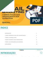 4 Erros no E-mail Marketing
