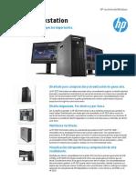 Datasheet HP Z820 Workstation