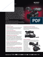 Sony PMW-300 Serie Manual