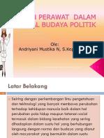 Peran Perawat Dalam Sosial Budaya Politik. Ppt Isbd, Des 2015