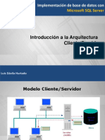 Semana 2-Arquitectura Cliente Servidor_SQLServer