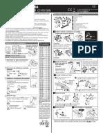 Manual ciclocomputador CC-RD100N