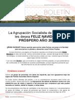 Boletín informativo del PSOE de Membrío
