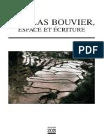 Guyader, Hervé - Nicolas Bouvier, Espace Et Écriture (2012, Éditions Zoé, 978-2-88927-002-6)