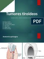 Tumores tiroideos