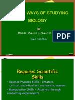 Chapter 1 Biologi