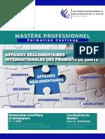Mastère Pro Casablanca Droit Des Affaires