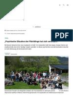"""""""Psychische Situation Der Flüchtlinge Hat Sich Verschärft"""" _ Tiroler Tageszeitung Online – Nachrichten Von Jetzt!(2)"""