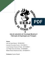 Relatório - Fabricação de Engrenagens