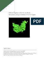 Efficient Ligation of DNA