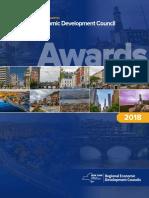 NY State Regional Economic Development Awards, 2018