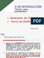Generador de Hidruros y Horno