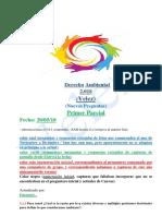 Velez - Derecho Ambiental Primer Parcial 2.018