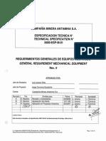 0000-Esp-m-01 Rev0 _ Requer Generales Equipos Mecanicos