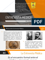Psicologia Medica La Entrevista